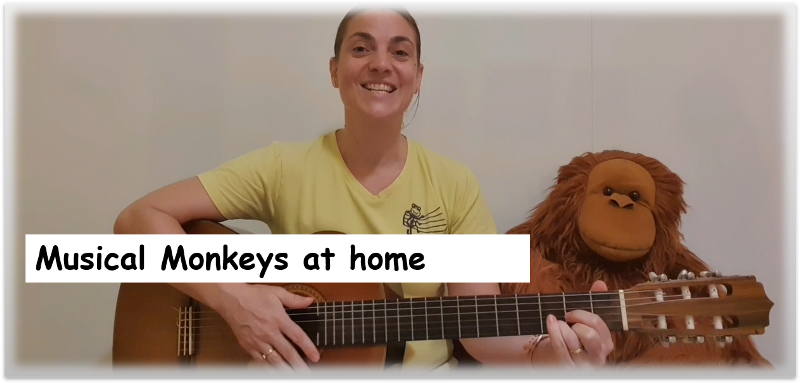 Musical Monkeys at home